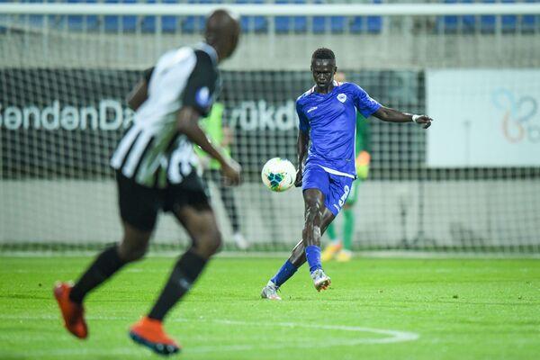 Матч первого квалификационного раунда Лиги европы между азербайджанским Нефтчи и северомакедонским клубом Шкупи - Sputnik Азербайджан