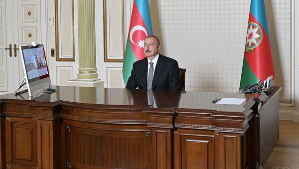 İlham Əliyev açlışda - Sputnik Азербайджан