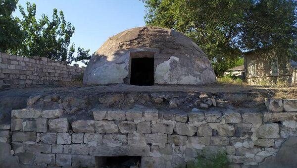 Гум-хамам (Песочная баня) в поселке Маштага - Sputnik Азербайджан