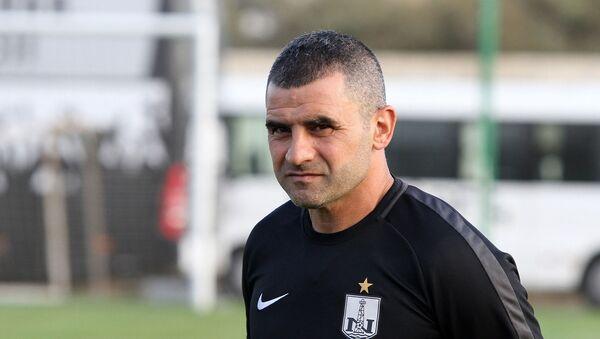 Главный тренер Нефтчи Физули Мамедов, фото из архива - Sputnik Азербайджан