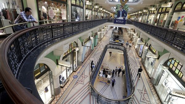 Торговый центр, фото из архива - Sputnik Azərbaycan