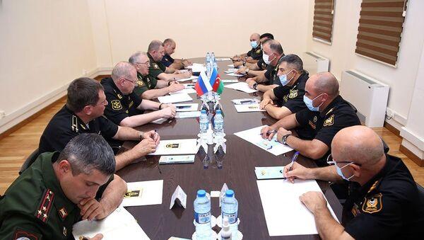 Встреча Керима Велиева с Русланом Цаликовым - Sputnik Азербайджан