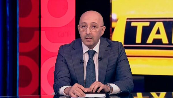Заведующий юридическим отделом Бакинского транспортного агентства (БТА) Хикмет Бабаев, фото из архива - Sputnik Азербайджан