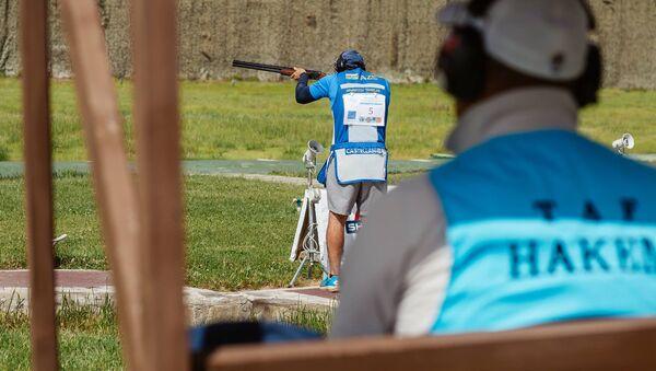 Соревнование по стендовой и пулевой стрельбе в Габале, фото из архива - Sputnik Азербайджан