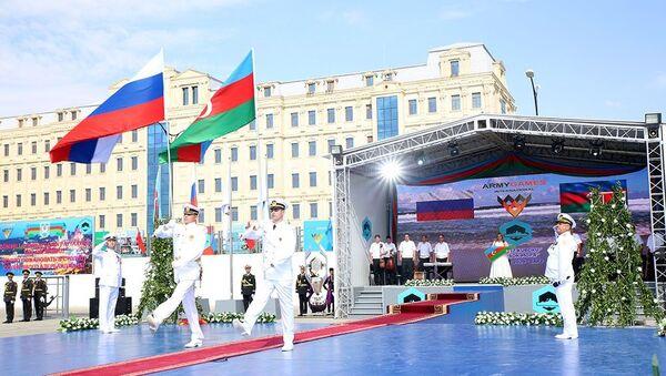 церемония закрытия Кубка моря - Sputnik Азербайджан