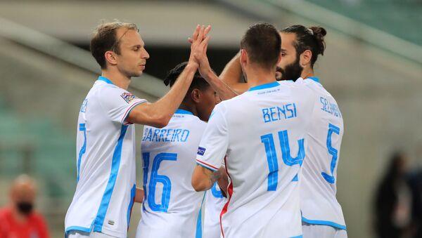 Игроки сборной Люксембурга  - Sputnik Азербайджан