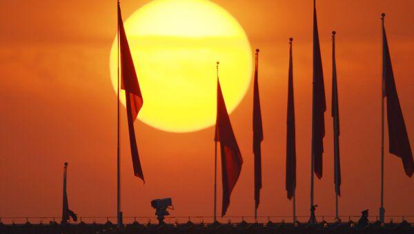 Флаг Китая. Архивное фото. - Sputnik Азербайджан
