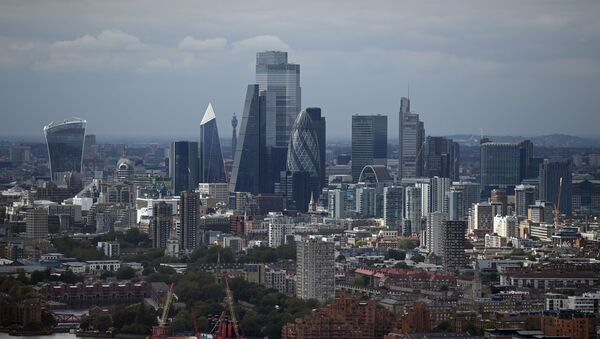 Вид на Лондон, фото из архива - Sputnik Азербайджан