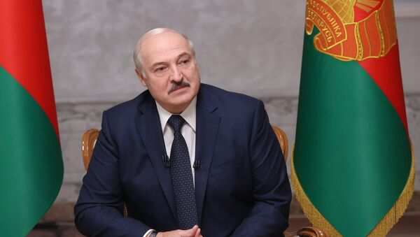 Президент Белоруссии Александр Лукашенко - Sputnik Azərbaycan
