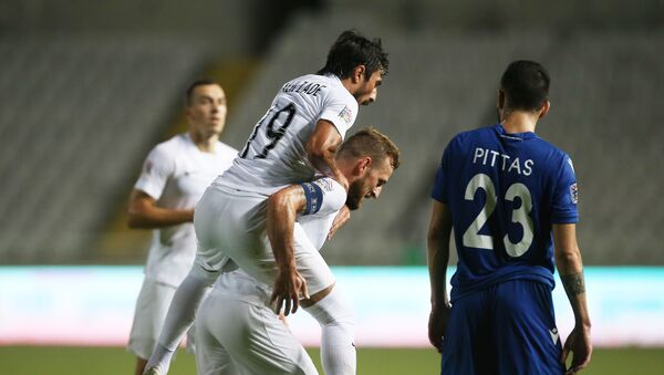 Матч 2-го тура Лиги наций Кипр - Азербайджан - Sputnik Азербайджан