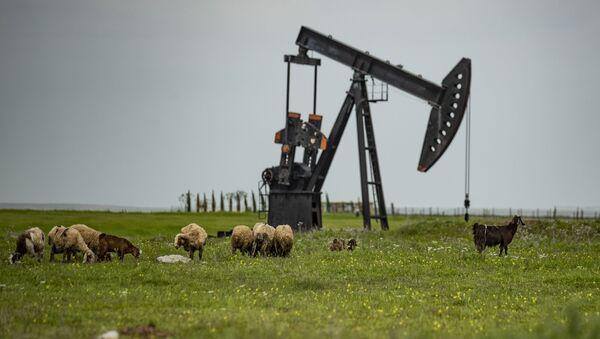 Нефтяная качалка, фото из архива - Sputnik Азербайджан