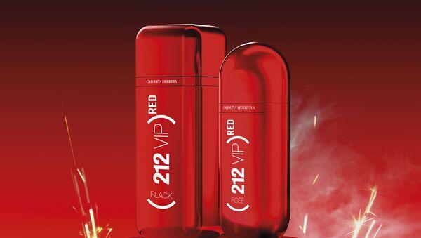 Carolina Herrera выпустили серию ароматов (212) RED VIP в рамках кампании по борьбе со СПИД - Sputnik Азербайджан