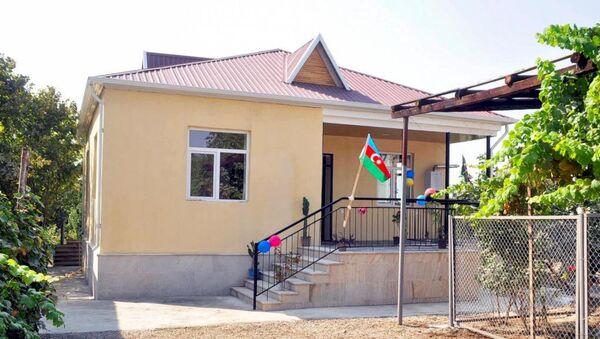 Дом для семей шехидов - Sputnik Азербайджан
