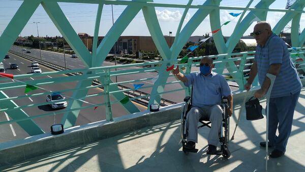 Президент Союза организаций инвалидов Азербайджана Давуд Рагимли - Sputnik Азербайджан