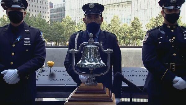 В США почтили память погибших в теракте 11 сентября - Sputnik Азербайджан