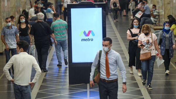 Bakı metrosu açılşdan sonra - Sputnik Азербайджан