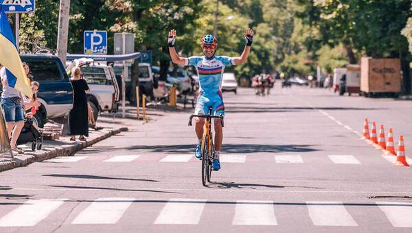 Азербайджанский велогонщик Эльчин Асадов, фото из архива - Sputnik Азербайджан