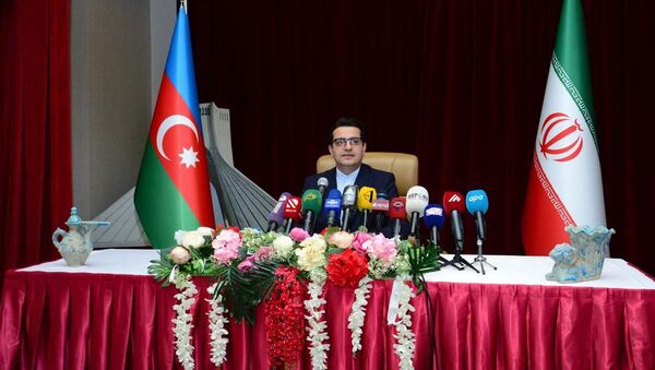 Посол Ирана в Азербайджане Сеид Аббас Мусави, фото из архива - Sputnik Азербайджан