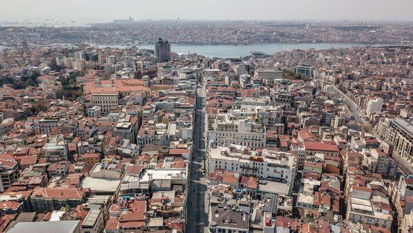 Вид на Стамбул, фото из архива - Sputnik Азербайджан