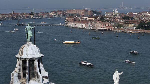 Ученые создают собственную Венецию - Sputnik Азербайджан