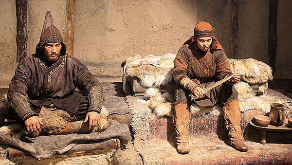 Съемки фильма Томирис, фото из архива - Sputnik Азербайджан