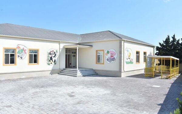 Детский сад, построенный при поддержке Фонда Гейдара Алиева - Sputnik Азербайджан