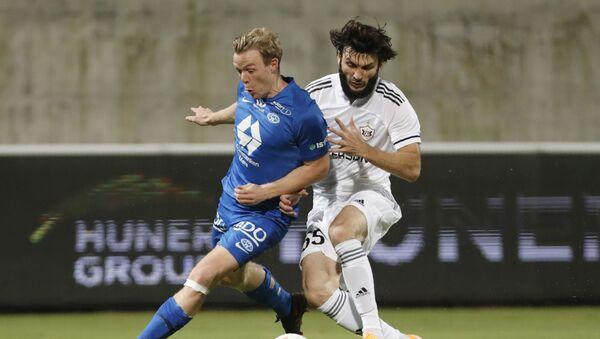 Qarabağ və Norveç Moldesi arasındakı oyun zamanı  - Sputnik Азербайджан