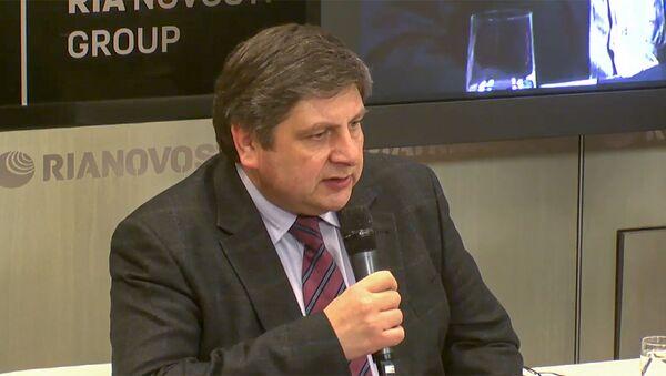 Гендиректор Центра экологических инвестиций Михаил Юлкин  - Sputnik Азербайджан