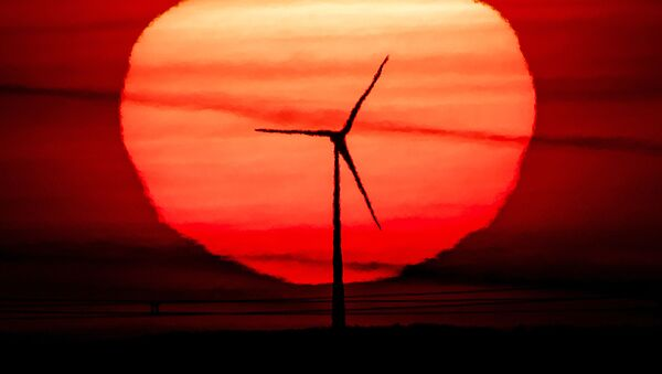 Восход солнца, фото из архива - Sputnik Azərbaycan