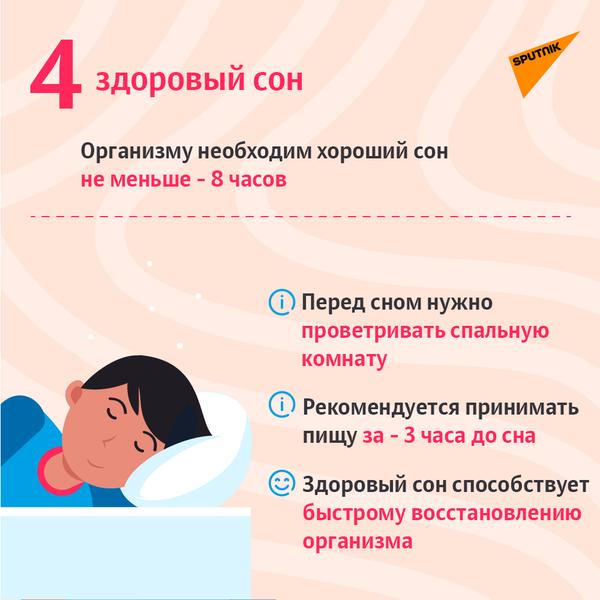 Пять советов для тех, кто переболел COVID-19-5 - Sputnik Азербайджан