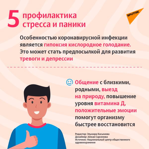 Пять советов для тех, кто переболел COVID-19-6 - Sputnik Азербайджан
