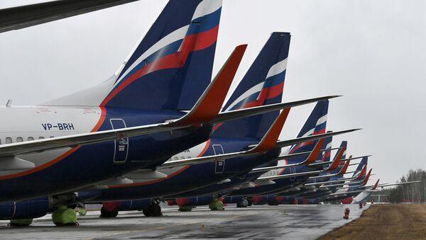 Пассажирские самолеты Boeing 737-800 авиакомпании Аэрофлот - Sputnik Азербайджан