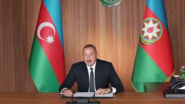 Президент Ильхам Алиев на Заседании высокого уровня, посвященном 75-летию ООН - Sputnik Азербайджан