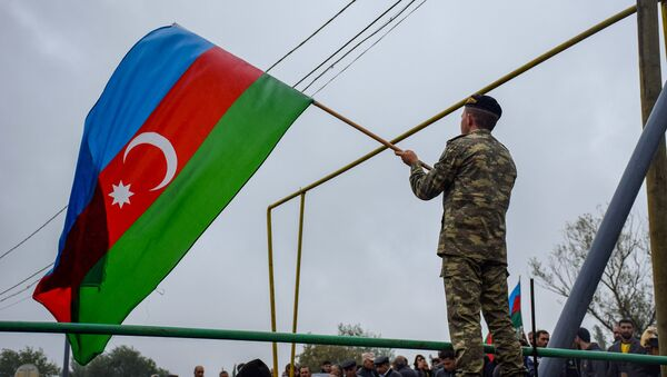 Флаг Азербайджана - Sputnik Азербайджан