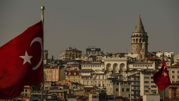 Вид на город Стамбул, фото из архива  - Sputnik Azərbaycan
