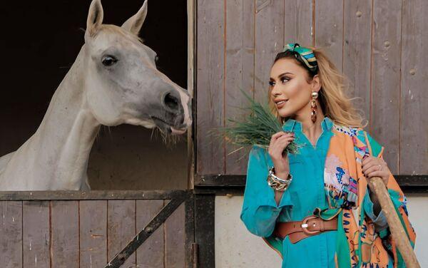Азербайджанская певица Роза Зяргярли - Sputnik Азербайджан