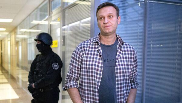 Алексей Навальный, фото из архива - Sputnik Azərbaycan