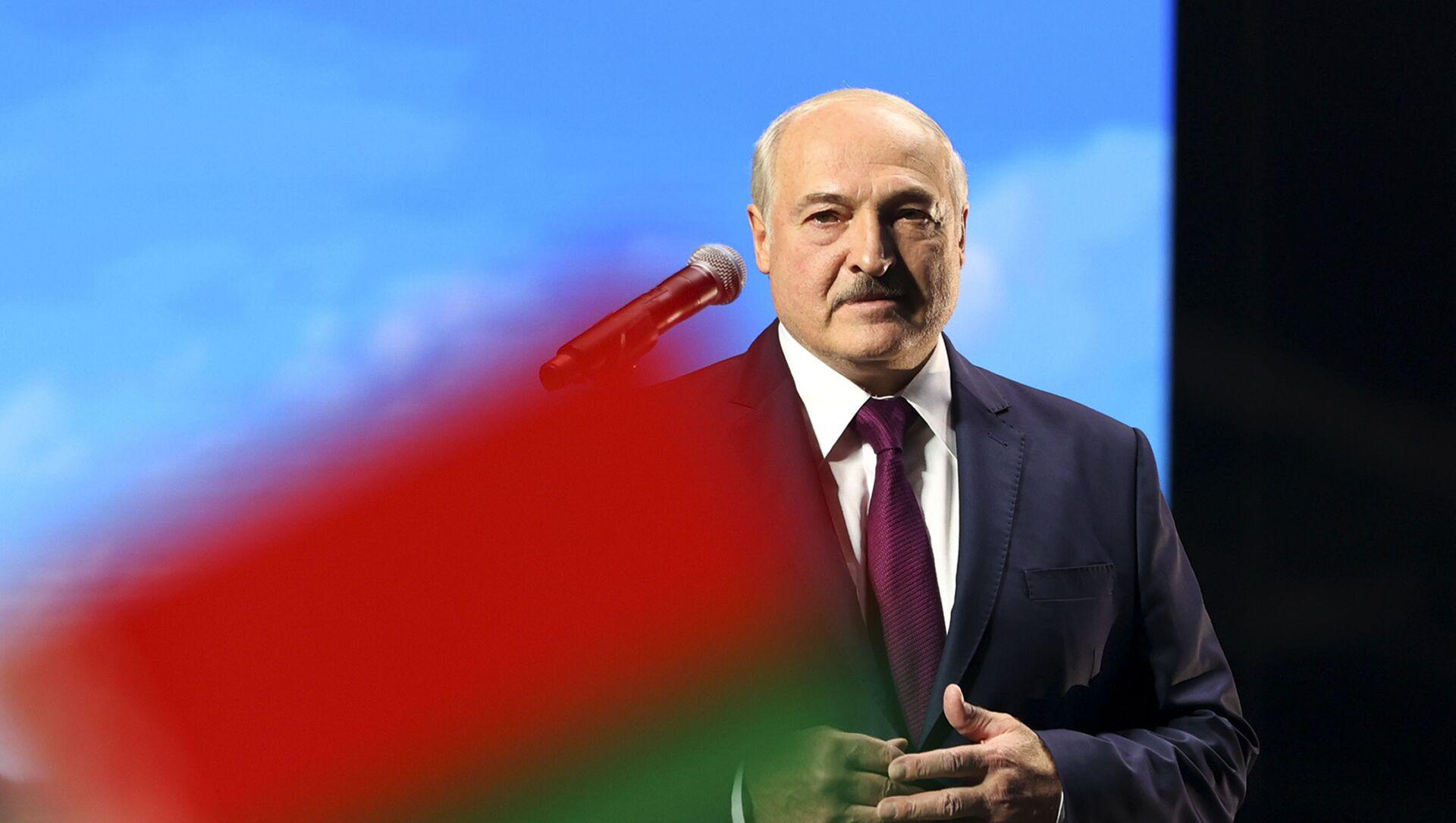Президент Белоруссии Александр Лукашенко, фото из архива - Sputnik Азербайджан, 1920, 10.08.2021