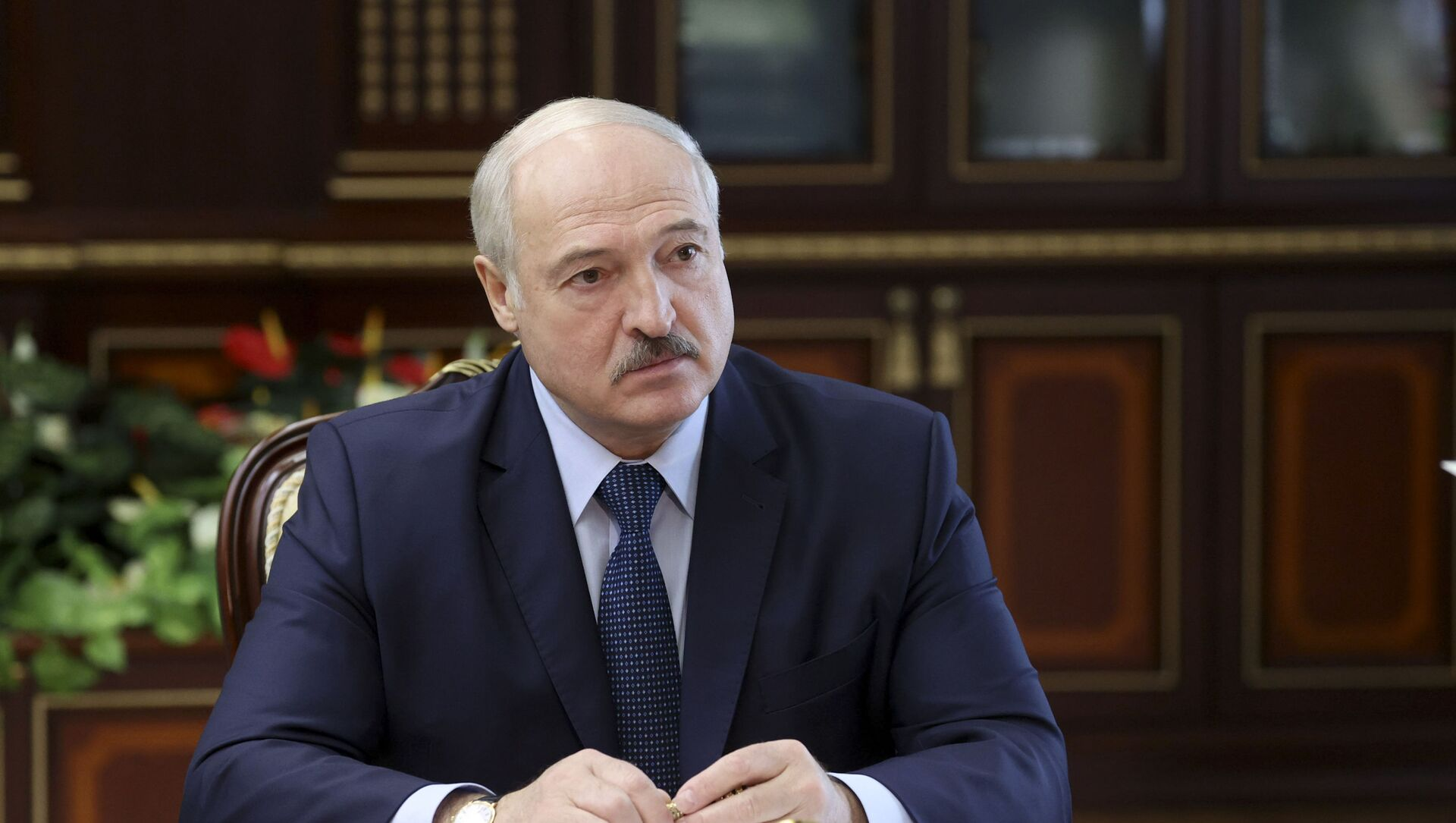 Президент Белоруссии Александр Лукашенко, фото из архива - Sputnik Азербайджан, 1920, 06.04.2021
