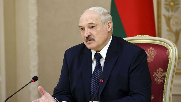 Президент Белоруссии Александр Лукашенко, фото из архива - Sputnik Azərbaycan
