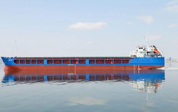 Капитально отремонтированное судно Расул Рза - Sputnik Азербайджан
