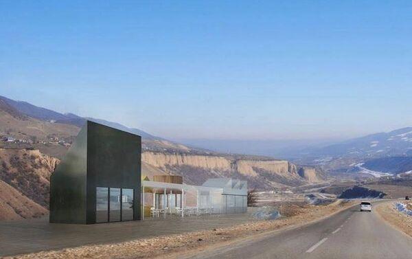 Концепция зоны отдыха вдоль государственных автомагистралей - Sputnik Азербайджан
