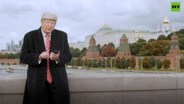 Как ролик RT о Трампе привлёк внимание мировых СМИ - Sputnik Азербайджан
