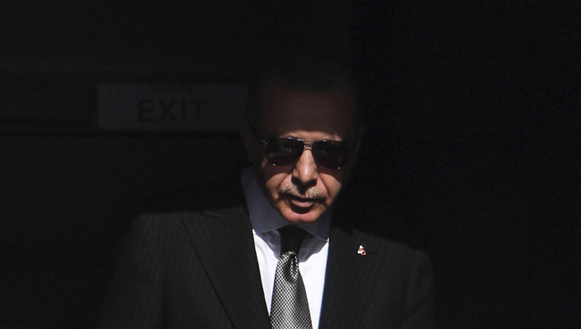 Президент Турции Реджеп Тайип Эрдоган, фото из архива - Sputnik Азербайджан, 1920, 16.06.2021
