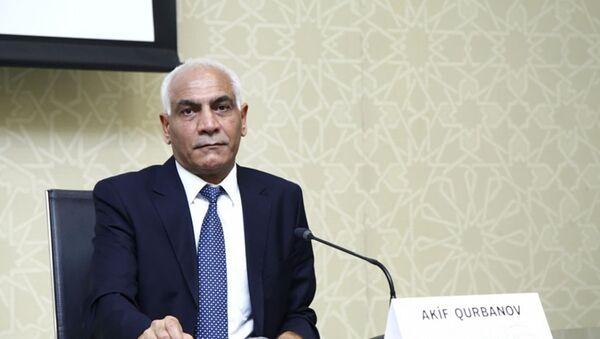 председатель научного комитета TƏBİB, профессор Акиф Гурбанов - Sputnik Азербайджан