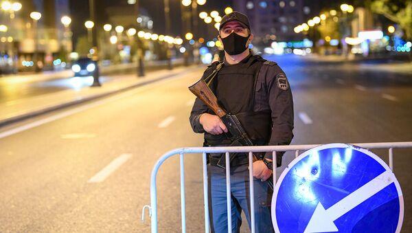 Комендантский час в Баку. - Sputnik Азербайджан