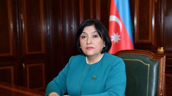 Спикер Милли Меджлиса АР Сахиба Гафарова, фото из архива - Sputnik Азербайджан