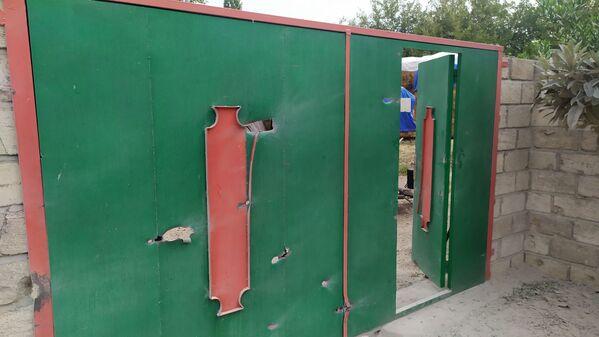 Последствия обстрела в селе Учоглан Агдамского района - Sputnik Азербайджан