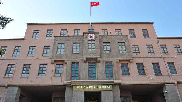 Türkiyənin Milli Müdafiə Nazirliyinin binası, arxiv şəkli - Sputnik Азербайджан
