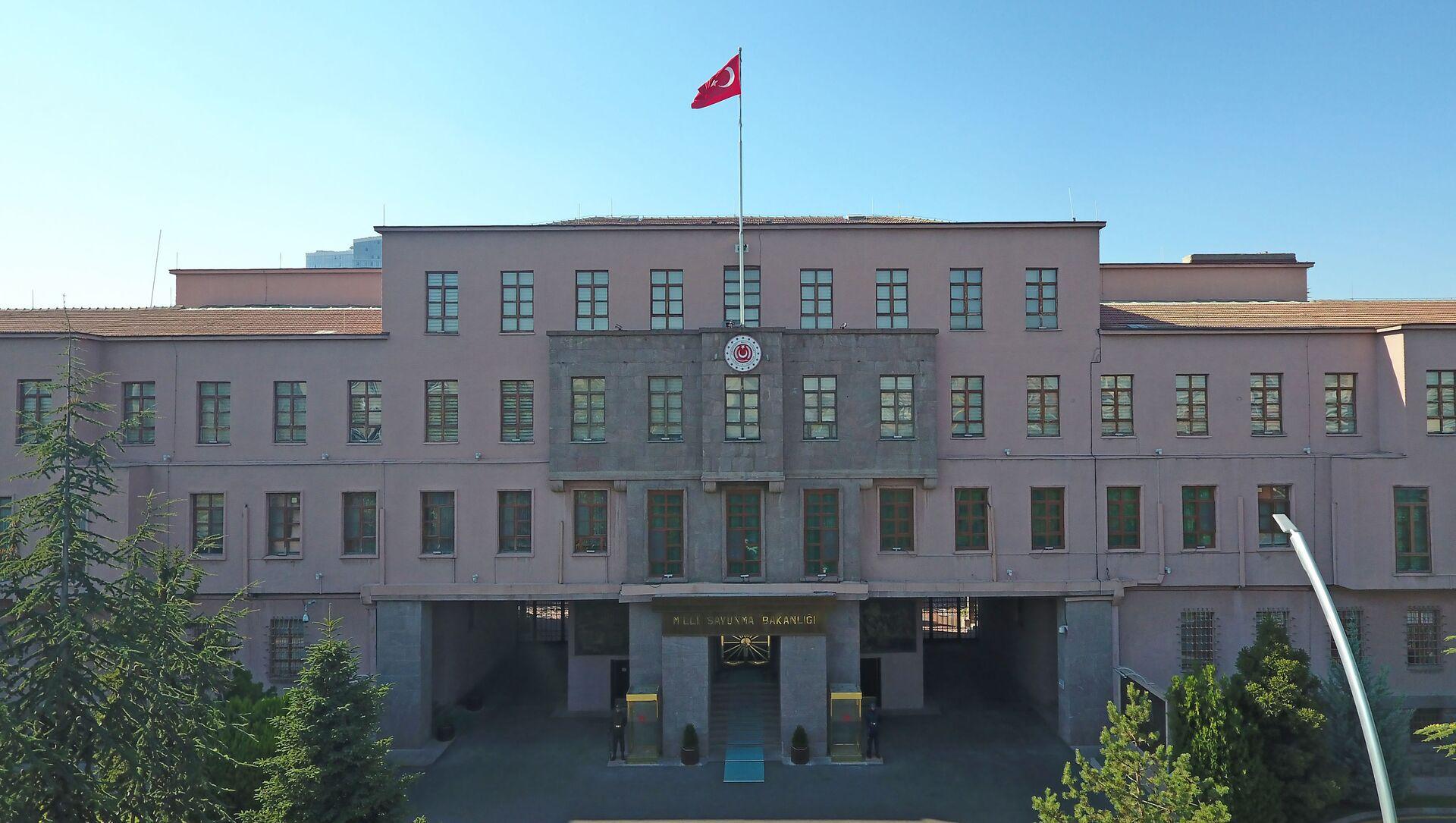 Türkiyənin Milli Müdafiə Nazirliyinin binası, arxiv şəkli - Sputnik Азербайджан, 1920, 07.04.2021